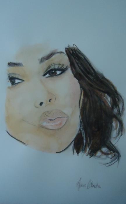 Kim Kardashian by missfayagirl71